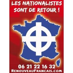 100 autocollants « Notre identité nationale ? »